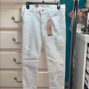 Levi's Jeans - Levi's white jeans
